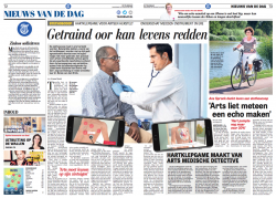 De Telegraaf publication